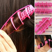 Wholesale Hair Accessories Roller - New Curls Rollers Curlers Curling Hair Accessories Beauty Hair Styling Tools For Women DIY Styling Tools JKQ0003
