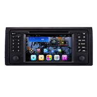 Wholesale Android Quad Core GPS Navigation quot Car DVD Player for BMW E39 with Bluetooth Wifi