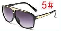 gafas de sol gratis al por mayor-Summe Ciclismo gafas de sol mujeres UV400 gafas de sol de moda para hombre sunglasse gafas de conducción espejo de viento del viento gafas de sol frescas envío gratis