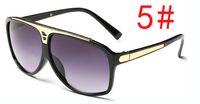 ingrosso bicicletta a cavallo-Summe Ciclismo occhiali da sole donna UV400 occhiali da sole moda uomo occhiali da sole Occhiali da guida in sella a vento specchio Occhiali da sole freddi spedizione gratuita