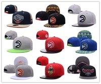 Wholesale Hawks Basketball - NEW HOT! Atlanta Adjustable Hawks wholesale price Snapback Hat Thousands Snap Back Hat Basketball Cheap Hat Adjustable Baseball Cap