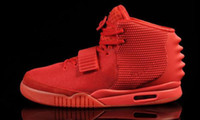Wholesale Picking Shoe - Air Retro 2 KANYE WEST Red October NRG Black Pick High Quality Version Man Women Basketball Shoes Wholesale Free Shipping
