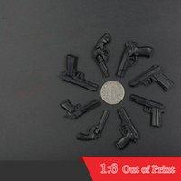 Wholesale Model Scale Pistol Toy - Out of Print First Generation 4D Assembling Gun Pistol 8pcs set 1:6 Scale Plastic Toy