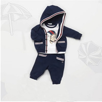 Wholesale Boys Attire - Boys Formal Clothing Kids Attire For Boy Clothes Plaid Suit In September Toddler Suit Set Children's Clothing Boy Tracksuits