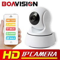 Wholesale Indoor Ptz Cameras - 720P WIFI IP Camera PTZ Wireless IR-Cut Night Vision Two Way Audio HD 1.0MP Surveillance CCTV Camera WI-FI ONVIF P2P APP View