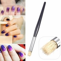 Wholesale Brush Nail Gel Products - Wholesale- 2016 New Product Nail Art UV Gel Acrylic Painting Drawing Pen Polish Transition Brush Tips Tool 9R71
