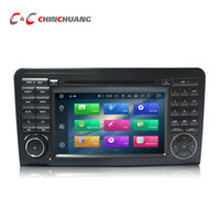 Wholesale mercedes w164 - Android 6.0 Octa Core Car DVD Player for Benz W164 with Radio GPS Navi Wifi DVR Mirror Link