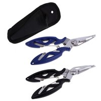 Wholesale Wholesale Lure Kits - Stainless Steel Fishing Scissors Pliers Line Cutter Lure Bait Remove Hook Tackle Tool Kits Accessories