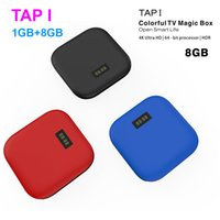 Wholesale I Quad Core Android - New TAP I Android TV Box Amlogic S905X Quad Core Set Top Box Android 6.0 1GB 8GB 2GB 16GB Wifi 4K H.265 HD Media Player