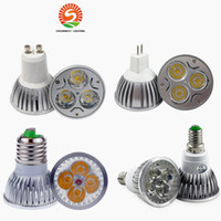 High Power CREE Lampe Led 9W 12W 15W Dimmable GU10 MR16 E27 E14 GU5.3 B22 Spot Led Spotlight Ampoule Led Downlight Hot Pur Cool White