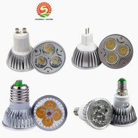High Power CREE Led Lamp 9W 12W 15W Dimmable GU10 MR16 E27 E14 GU5.3 B22 Led spot Light Spotlight led bulbo downlight quente puro branco frio