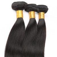 Wholesale very weave for sale - Brazilian Hair Weave Bundles Straight Remy Human Hair Weaving Extensions very Beauty or Natural Color