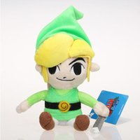Wholesale Anime Plush Wholesale Japan - The Legend of Legend Zelda 20CM Stuffed Plush Soft Toys with Skyward Sword Japan Anime Free Shipping Christmas Gift for Kids Doll Sale
