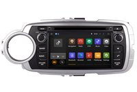 Android 7.1 Car DVD Player GPS Navigation para Toyota Yaris 2011 2012 2013 con Radio Bluetooth USB Audio Video Estéreo WiFi
