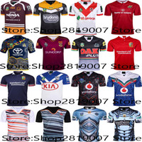 Men st super - Top Thai quality Wests Tigers Brisbane Broncos St George Illawarra Dragons Rugby Shirt Maroons Rugby Jersey Super Rugby size S XL