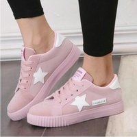 Wholesale platforms sneakers for women - Fashion women Shoes Women Casual Shoes Comfortable Damping Eva Soles flat Platform Shoes For All Season Hot Selling woman sneakers pink