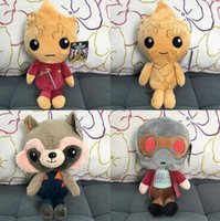 Wholesale 20cm Guardians of the Galaxy Plush Dolls Guardians of the Galaxy Plush Toys Stuffed Kids Toys Christmas Gift for Kids CCA6094
