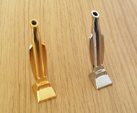 Wholesale Vacuum Types - Silver Gold Snuff Snorter Hooter Hoover Vacuum Sniffer Bullet Rocket Sunff Snorter Metal Tube Hoover Sniff Metal Tube