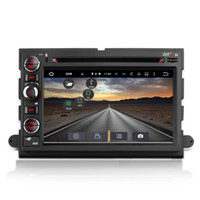 Wholesale ford car dvd player radio for sale - 2G RAM G ROM Core Android System Double Din Car DVD For Ford Explorer Expedition montego Edge GPS Navi Receiver Mirror Screen WIFI