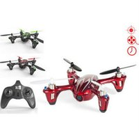 Wholesale Rtf Rc Model Aircraft - F07858 Hubsan X4 H107C 2.4G Quadrocopter RC Aircraft RTF with Aerial Camera Video Recording Helicopter