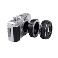 Wholesale Micro Lens Adapters - Viltrox JY-43F Auto Focus Lens Mount Adapter for Four Thirds 4 3 lens to Olympus Panasonic Micro 4 3 DSLR Camera E-PL3 GH4 G5