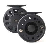 Wholesale plastic fishing reels - Cheap Fishing Fly Reel GLA Weight 3 4 5 6 7 8 Large Arbor Plastic Fly Fish Line Wheel Right Left Hand Interchangeable