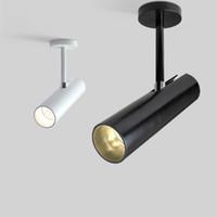 olgu resimleri toptan satış-Resim Işık LED Spot Mağaza Vitrin Işık Projektör ve Arka Plan Tavan Spot Vitrin Aydınlatma Ayarlanabilir Spot