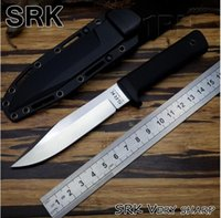 Wholesale Fix Cold - 2018 classic Cold Steel SRK VG-1 Fixed Blade Knife Blade ABS Handle Hunting tool outdoor Survival Camping knives fixed blade campe knife