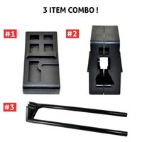 block cost - 3 Combo AR15 M4 Armorer s Tool Kits High Profile Vise Block With Delta Ring Wrench Handguard Rubber Costing Remover Tool