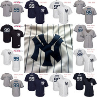 Wholesale Personalize Logo - Mens Womens Youth 99 Aaron Judge Jersey 2017 New York Yankees Personalized Custom Flex Base Cool Base Baseball Jerseys Stitched Logo