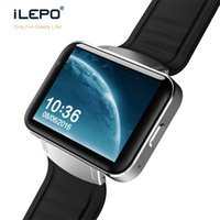 Wholesale gsm heart rate online - 3G Smart watch DM98 with Message content display GSM call WCDMA smart Android system bluetooth fitness data tracking wrist watch