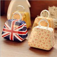 Wholesale Mini Handbag Tin - High quality creative S size MINI handbag tin box , tin case multi-types