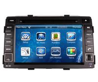 Wholesale Chinese Kia Sorento - In Dash Car DVD Player for Kia Sorento 2010 2011 2012 with GPS Navigation Radio BT USB SD AUX Map Audio Video Stereo