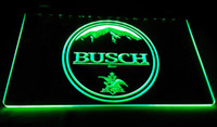 Wholesale Busch Signs - LD057-g-BUSCH-beer-Neon-Light-Sign Decor Free Shipping Dropshipping Wholesale 6 colors to choose