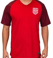 Wholesale Shirt United States Women - USA size S-XL new Thailand Quality 2017 18 women mens soccer Jerseys United States Home Away DEMPSEY DONOVAN BRADLEY ALTIDORE Football Shirt