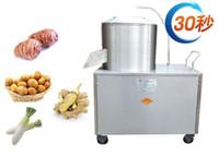 Wholesale Sweet Machines - 220v  110v commercial auto peeling machine auto peelers for Potato taro turnips ginger and sweet potato free shipping