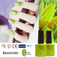 Wholesale Browning Nail Stickers - Wholesale- Brand IBCCCNDC Nail Gel Polish UV Lamp Needed 79 Charming Colors Manicure Nail Varnishs Lacquer Nail Art Tools Stickers 09858