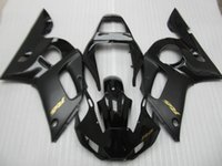 Wholesale Motorcycle Fairing Kit Yamaha Yzfr6 - Free 7 gifts fairings for Yamaha YZF R6 98 99 00 01 02 black motorcycle fairing kit YZFR6 1998-2002 OT30
