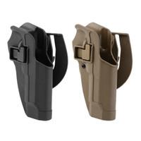 ingrosso fodera tattica a pale-Tactical Holster per pistola a mano destra M9 M92 Belt Gun Holster con cintura in vita per fondina Hunting Gun Accessories
