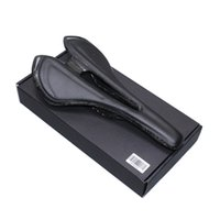 Wholesale Cycling Race Seat - light Carbon fiber Saddle Breathable Cycling Saddles Racing Road PU Leather Seat bike seat