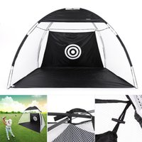 Wholesale Wholesale Golf Netting - TOMSHOO 10' Golf Practice Hit Net Hitting Cage Training Tent with Carry Bag Y2692