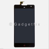 Wholesale Replacement Touch Screen Panel Zte - Wholesale- For ZTE Nubia Z7 Max NX505J Full LCD Display Touch Panel Screen Digitizer Glass Assembly Replacement Parts Free shipping