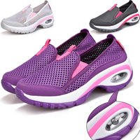 Wholesale Puppy Latex - Women Shoes New Casual Shoes Lightweight Breathable Mesh Fabric Shoescasual Air Shoes