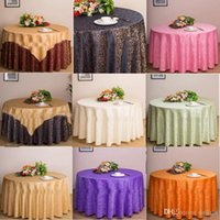 Wholesale Table Cloth Table Cover Round For Banquet Wedding Party Decoration Hotel Tables Fabric Table Wedding TableCloth Home Textile Colors
