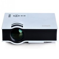 Wholesale Manual Atv - Wholesale- Original UNIC UC40 Mini Portable LED Projector Full HD Multimedia Home Theater 1080P ATV Beamer LCD 3D Video Projector