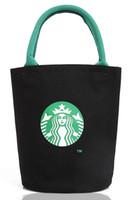 damen leinwand handtaschen großhandel großhandel-Großhandels- Mode Umhängetasche Leinwand Frauen Handtaschen Eimer Damen Handtaschen Casual Große Weibliche Floral Tote Bag Für Ipad Bolsos