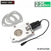 "Wholesale Electric Exhaust Kit - TANSKY - High-performance 2.25"" ELECTRIC EXHAUST CATBACK DOWNPIPE CUTOUT E-CUT OUT VALVE MOTOR KIT ONLY TK-BTCUT225"