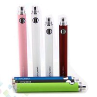 Wholesale Evod Battery Quality - High quality Evod Twist Battery 650mah 900mah 1100mah Variable Voltage 3.2-4.8v Evod Battery Electronic Cigarette Multi Colors