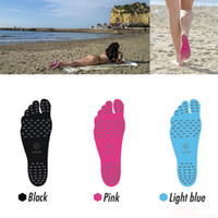 Wholesale NAKEFIT Invisible Foot Pads Feet Sticker Adhesive Stick On Soles Flexible Feet Protection Waterproof Pad Beach Shoes