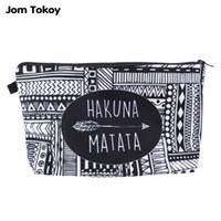 Wholesale Jom Tokoy Fashion Brand Cosmetic Bags New Fashion D Printing Women Travel Makeup Case